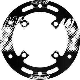 Reverse Race SL - Guía cadena - Guardabarro 44 dientes blanco/negro